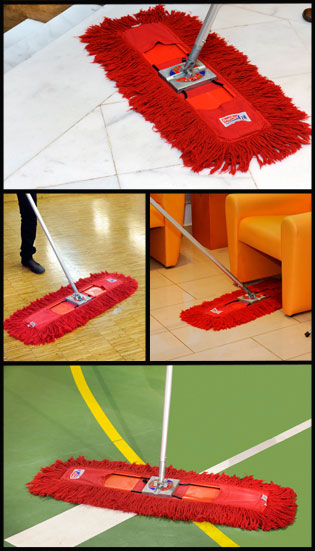 A vörös Mop előnyei