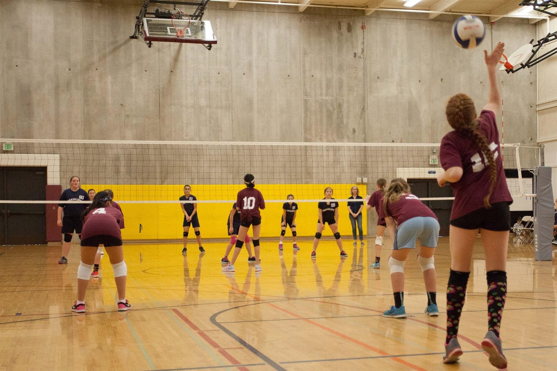The valley girls volleyball locker room ass galleies