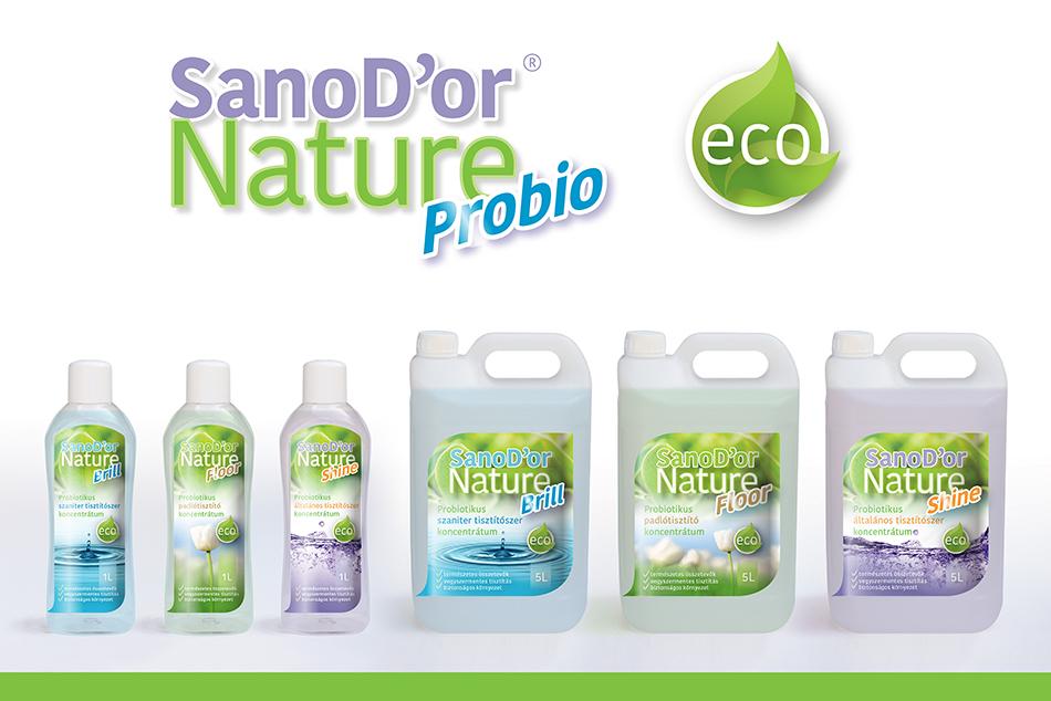 Sanodor Nature Tisztítószercsalád