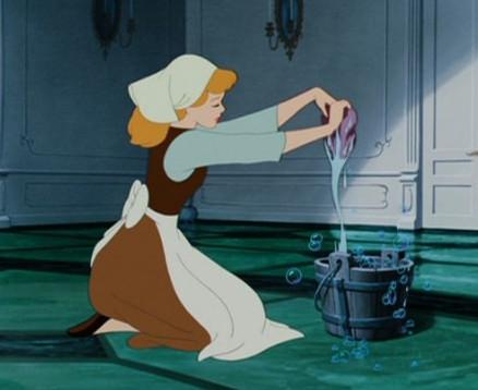 hamupipőke takarít