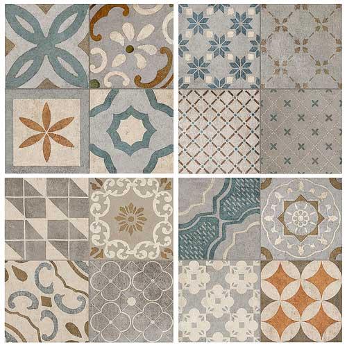 mázas padló minták