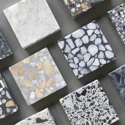 terrazzo mintás padlók